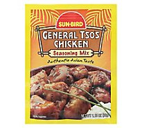 Sun Bird Seasoning Mix General Tsos Chicken - 1.14 Oz