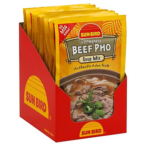 Sunbird Beef Pho Soup Mix - 1.05 Oz