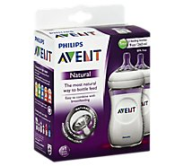 Avent Bottle Natural Twinpack 9oz - 2 Count