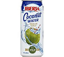 Iberia Coconut Water With Pulp - 16.9 Oz