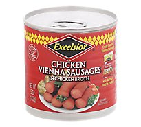 Excelsior Chicken Vienna Sausages - 4.6 Oz
