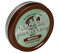 Griffin Shoe Polish Wax Brown - Each