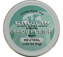 Griffin Shoe Polish Premium Neutral - 1.125 Oz