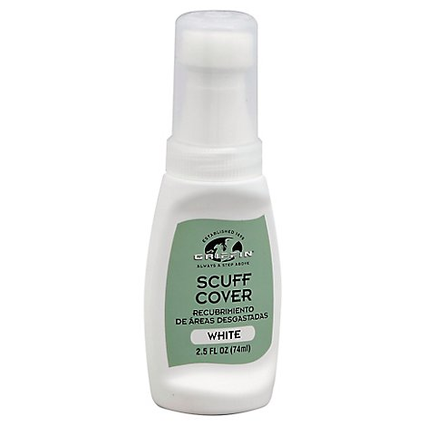 Griffin Leather Scuff Cover White - 2.5 Oz