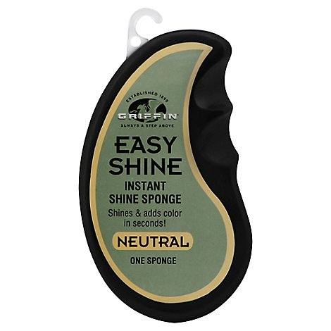 Griffin Easy Shine Sponge Neutral - Each