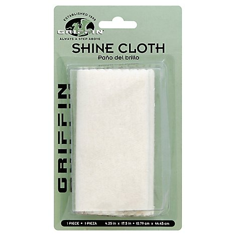 Griffin Shoe Shine Cloth - Each