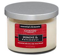 Candle-lite Candle 3 Wick Jasmine & Patchouli - Each