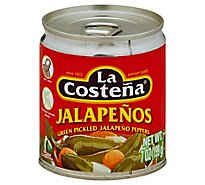 La Costena Jalapenos Can - 7 Oz