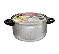 Good Cook Dutch Oven With Lid Stainless Steel 5 Quart - Each