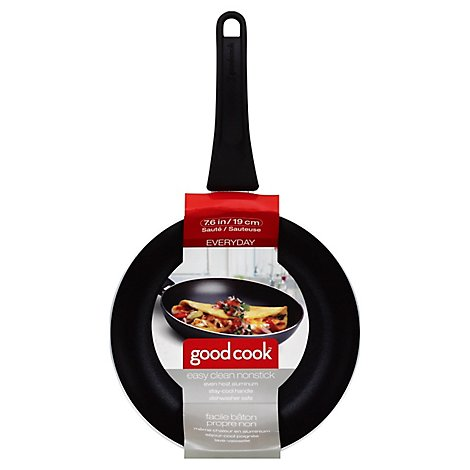 Good Cook Non Stick Saute Pan 7.75in - Each