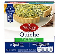 Nancys Frozen Appetizer Quiche Spinach Florentine - 6 Oz