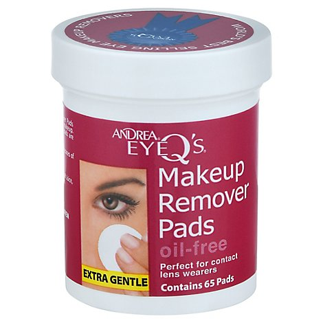 Aii Andrea Eye Qs Non-Oilies 65ct - 65 Count