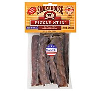 Smokehouse Dog Treats Beef Pizzle Pizzle Sticks Medium 6 Count - 0.5 Oz