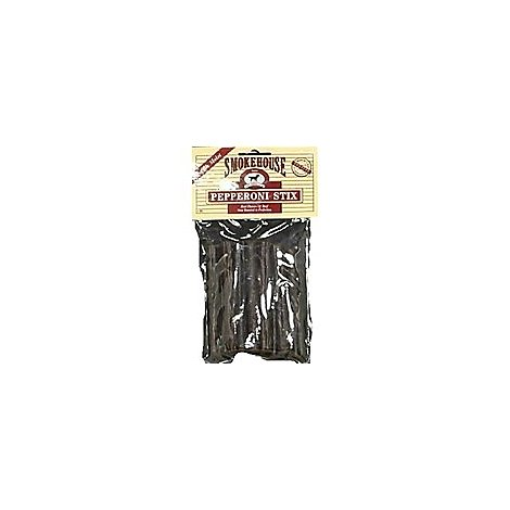 Smokehouse Dog Treats Beef Pepperoni Stix - 4 Oz