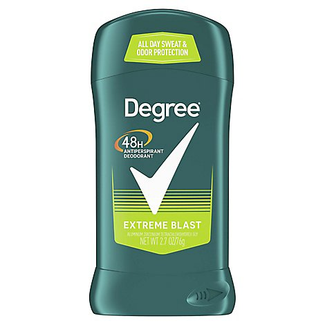 Degree For Men Dry Protection Anti-Perspirant Stick Extreme Blast - 2.7 Oz