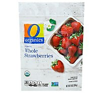 O Organics Organic Strawberries Whole - 10 Oz