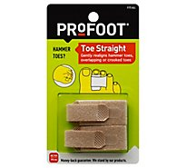 Profoot Wrap Toe Straight - Each
