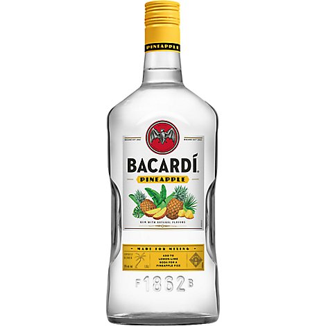 Bacardi Rum Pineapple Fusion 70 Proof - 1.75 Liter