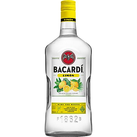 Bacardi Rum Limon 70 Proof - 1.75 Liter
