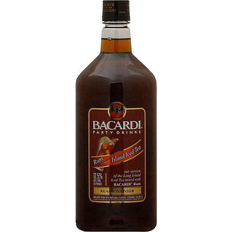 Bacardi Rum Long Island Iced Tea Party Drink Ready To Drink - 1.75 Liter
