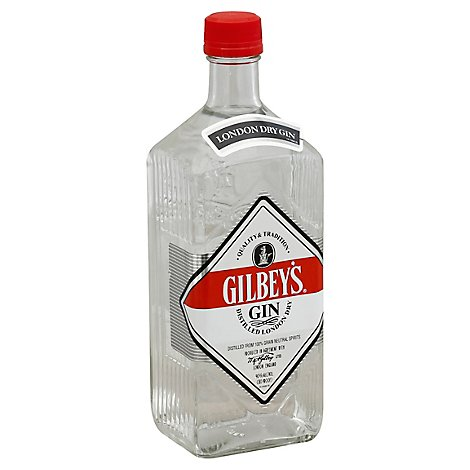 Gilbeys Gin Distilled London Dry 80 Proof - 750 Ml