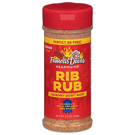 Famous Daves Seasoning Rib Rub - 5.5 Oz
