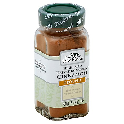The Spice Hunter Cinnamon Highland Harvested Saigon Ground - 1.5 Oz