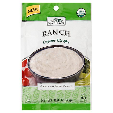The Spice Hunter Dip Mix Organic Ranch - 0.9 Oz