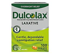 Dulcolax Laxative Tablets - 100 Count