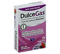 Dulcogas Tabs Max Strength Wild Berry - 18 Count