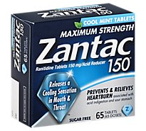 Zantac Tablets Cool Mint 150mg - 65 Count
