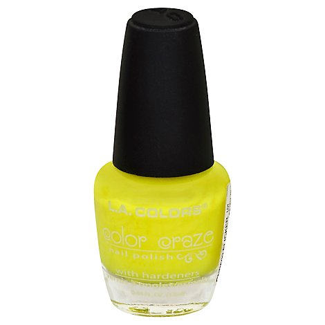 LA Colors Color Craze Nail Polish Flicker CNP509 - 0.44 Fl. Oz.
