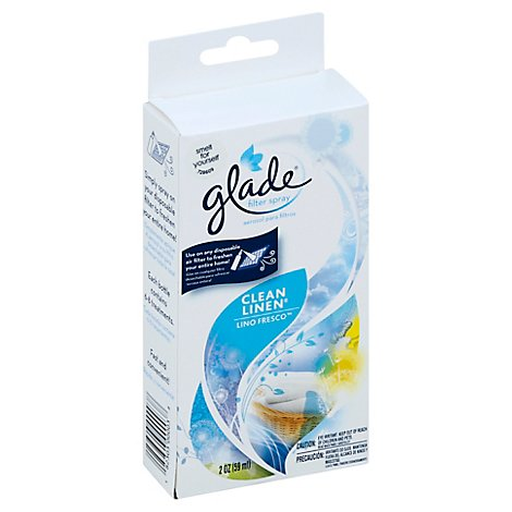 Glade Filter Spray Clean Linen - Each