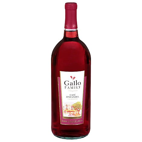 Gallo Family Vineyards Cafe Zinfandel Red Wine - 1.5 Liter