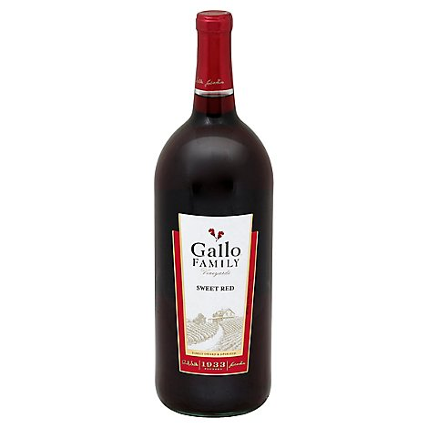 Gallo Family Vineyards Sweet Red Red Wine - 1.5 Liter