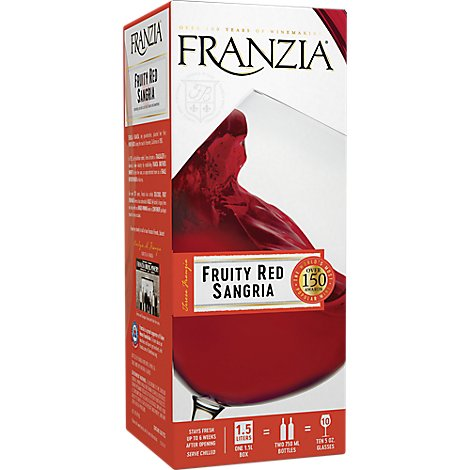 Franzia Fruity Red Sangria - 1.5 Liter