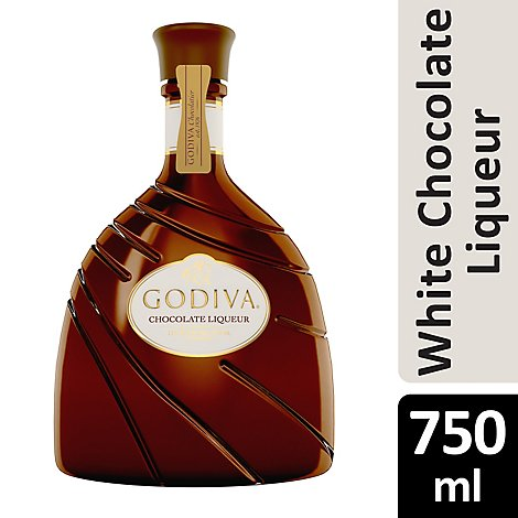 Godiva White Chocolate Liqueur - 750 Ml