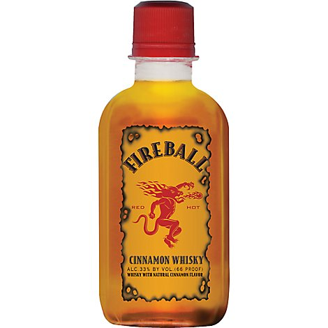Fireball Cinnamon Whisky 66 Proof - 100 Ml
