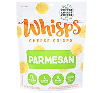 Cello Whisps Crisps Parmesan Cheese - 2.12 Oz