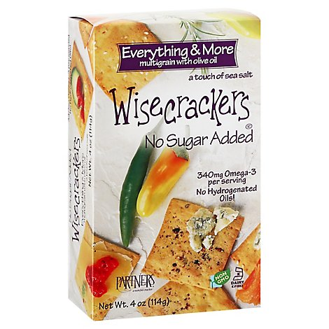 Wisecrackers Crackers Multigrain Everything & More - 4 Oz
