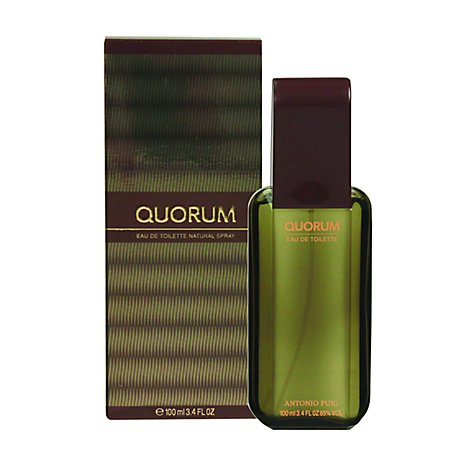 Quorum Eau De Toilette Spray - 3.4 Fl. Oz.