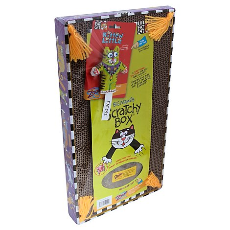 Fat Cat Big Mamas Pet Supply Scratchy Box - Each