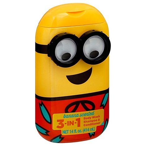 Mz Body Wash Minion 3in1 - 14 Fl. Oz.