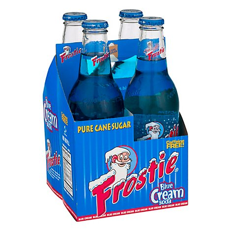 Frostie Blue Cream Soda - 4-12 Fl. Oz.