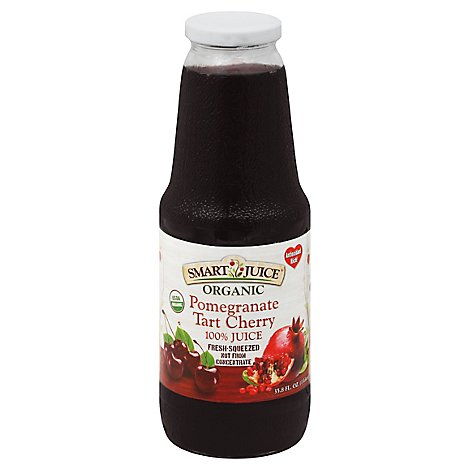 Smart Juice Pomegranate Cherry - 33.8 Oz
