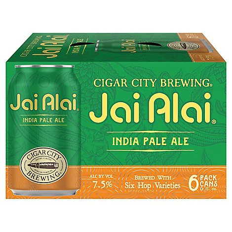Cigar City Jai Alai Cans - 6-12 Fl. Oz.