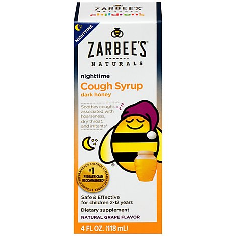 Zarbees Naturals Childrens Cough Syrup - 4 Fl. Oz.