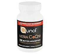 Qunol Ultra Coq10 100 Mg Softgels - 30 Count