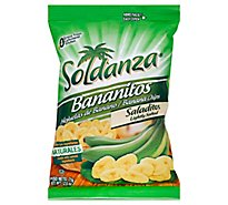 Soldanza Bananitos Banana Chips Lightly Salted - 2.5 Oz