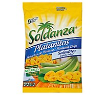 Soldanza Platanitos Plantain Chips Lightly Salted - 2.5 Oz